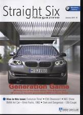STRAIGHT SIX MAGAZINE - January 2010