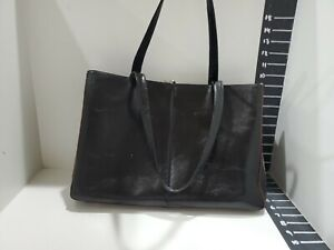 Hobo womens black lether tote/ briefcase bag