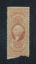 CKStamps: US Revenue Stamps Collection Scott#R47b Used Tear Off