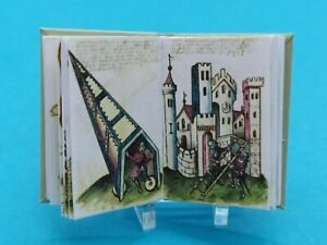 1:12 Scale Books, Arms & Armour (Mediaeval), Crafted by Ken Blythe
