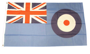 RAF Ensign 5ft x 3ft Flag with eyelets suitable for Flagpoles FREE UK Delivery