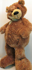 "First & Main Soft Plush 15"" Big Light Brown Bear Clean Big Feet Molasses 1076"