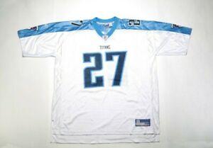 VINTAGE 2002 NFL Replica Jersey 7009A-GEORGE27 WHT Eddie George/Tennessee Titans