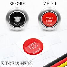 BMW Start Stop Engine Knopf Reparatur Schalter Schutz Kappe Austausch Taste Rot