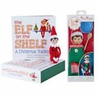 The Elf on the Shelf® Light Skinned Boy with Claus Couture Sweet Shop Set