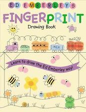 Ed Emberley's Fingerprint Drawing Book by Ed Emberley (2005, Paperback /...