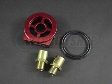 Blox Oil Filter Block Adapter Red