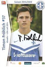 Timon Fröhlich SV Darmstadt 98  2014/15 2014/2015 14/15- DFB-2.Liga -Lilien