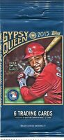 2015 Topps Gypsy Queen Baseball Complete Your Set Pick 25 Cards From List