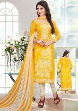 Elegant Crepe Designer Printed Unstitched Dress Material Suit D.No VM2077