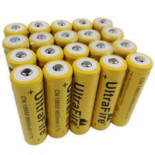 20PCS Rechargeable18650 9800mAh 3.7V Li-ion Battery for Flashlight Torch Light