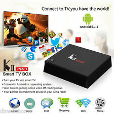 KII PRO 2GB+16GB S905 3D TV BOX DVB-S2 T2 Quad Core Dual WIFI H265 Media Player