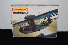 Vintage Matchbox #PK-409 Dornier Do G-1 hidroavión Modelo Kit 1/72