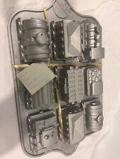 Nordic Ware Pro-Cast Aluminium Train Cake Pan 5 Cups 1.2 Ltrs Made In USA
