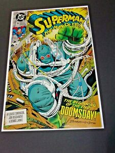 Superman Man of Steel 18 1st appearance of First Doomsday Dc Comics