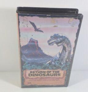 Return of the Dinosaurs 1984 Beta Video Tape Cartoon Movie Rare