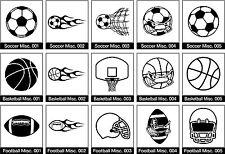 Vector Sport Soccer Football Basketball eps Vinyl Cutter Plotter clipart graphic