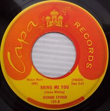 RONNIE STYNER hey hey baby Bring me you 1962 TEEN Rocker 45 e6970
