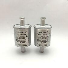 2x Gomet Certools LPG Autogas Filter Gasfilter 12mm f. Landirenzo, Landi 12/12