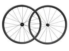 30mm bicycle wheelset Carbon Wheels matt rim 700C Road Tubeless Clincher Cycle