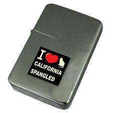 I Love My Cat Engraved Lighter California Spangled