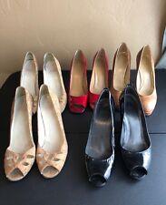 Stuart Weitzman Size 10 M  Heels Lot Of 5 Used