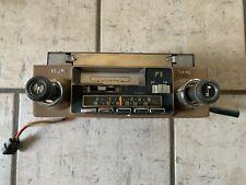 Amc Jeep Wagoneer Am Fm Cassette Radio Nice Original Very Rare