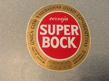 "Ancien autocollant, stickers ""super bock"