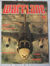 Warplane Issue 60 Grumman EA-6B Prowler cutaway drawing & poster