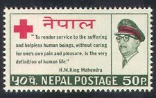 Nepal 1966 Red Cross/Medical/Health/Royalty 1v (n27931)