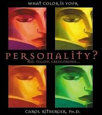 What Color Is Your Personality?: Red, Orange, Yellow, Green...-ExLibrary
