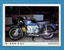 MOTO 2000 - Panini 1972 -Figurina-Sticker n. 49 - BMW R 75/5 -Rec
