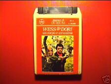 """WESS & DORI GHEZZI """"UN corpo.."""" cassetta STEREO8 SIGILL"""