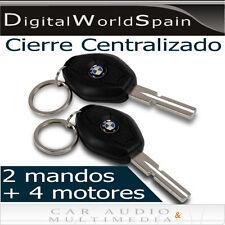 KIT CIERRE CENTRALIZADO TIPO BMW CON 2 MANDOS Y 1 MOTOR MAESTRO + 3 ESCLAVOS