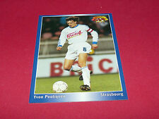YVON POULIQUEN RC STRASBOURG MEINAU RCS PANINI FOOTBALL CARD 1994-1995