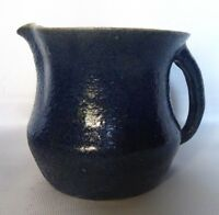 AMB MERRIC BOYD POTTERY JUG WITH GUM LEAF MARK AUSTRALIAN POTTERY