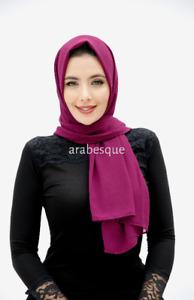 Plain Georgette Hijab