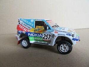 266M Skid SKM099 Mitsubishi Pajero Evo #257 Rally Paris Dakar 2000 Prieto 1:43