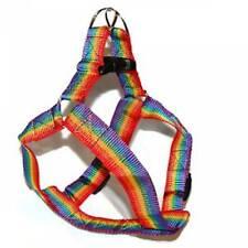 Gay Pride Pet Harness Rainbow