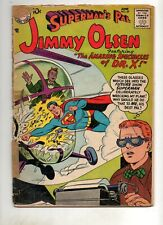 Superman's Pal Jimmy Olsen #29 & 27 1ST SUPERMAN with KRYPTO! 1958 2 TOUGH BOOKS
