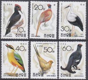 Korea (N) - 1992 - MNH - (3301-3306) Birds