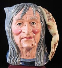 """Royal Doulton Character Jug - """"The Pendle Witch"""" D6826"""