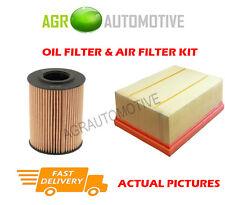 DIESEL SERVICE KIT OIL AIR FILTER FOR VOLKSWAGEN CRAFTER 35 2.0 143 BHP 2011-