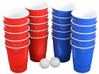 Pro Series Beer Pong Set - With Hard Plastic Melamine 20 Cups!           Multico