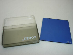 Cokin 020 Blue 80A +4 BLUE Filter with case  , No 20 ,  A series