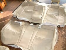 2004 - 2008 Acura TL Parchment (Lt. Tan) Leather Replacement Rear Seat Covers