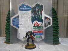 Heroscape Custom Solomon Grundy Double Sided Card & Figure w/ Sleeve DC