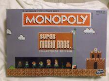 Monopoly Super Mario Bros Collectors Edition Board Game NES Nintendo NEW Hasbro
