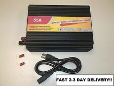 RV Converter Battery Charger 110 120 V AC to 12 volt DC Supply replaces PM3-55