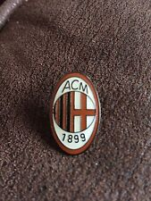 AC MILAN Italian Football Club Crest Enamel Pin Badge Butterfly Clasp Emblem
